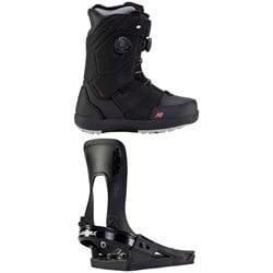 K2 Maysis Clicker X HB Snowboard Boots + K2 Clicker X HB Snowboard Bindings 2022