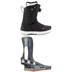 K2 Boundary Clicker X HB Snowboard Boots ​+ K2 Clicker X HB Snowboard Bindings 2021
