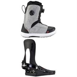 K2 Kinsley Clicker X HB Snowboard Boots + K2 Clicker X HB Snowboard Bindings - Women's 2021