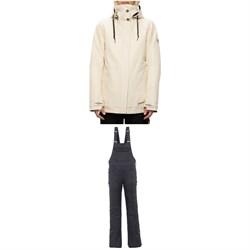 686 SMARTY Spellbound Jacket + Black Magic Insulated Bibs - Women's