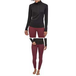 Patagonia Capilene Midweight Zip-Neck Top ​+ Bottoms - Women's