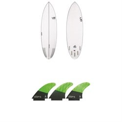 Lib Tech Nude Bowl Surfboard ​+ Lib Tech Tri Large Fin Set