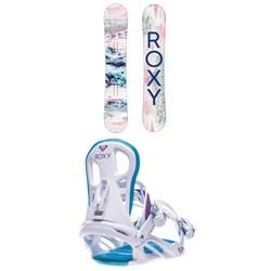 Roxy Sugar Banana Snowboard + Classic Snowboard Bindings - Women's 2021