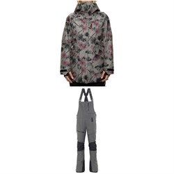 686 GLCR GORE-TEX Moonlight Insulated Jacket ​+ GLCR Geode Thermagraph Bibs - Women's