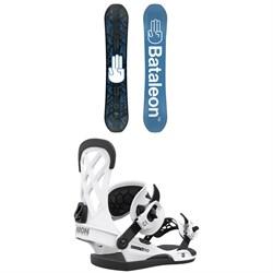 Bataleon Fun.Kink Snowboard + Union Contact Pro Snowboard Bindings 2021