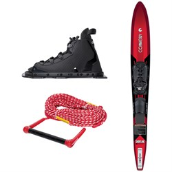 Connelly Shortline Slalom Waterski ​+ Swerve w​/RTS Bindings ​+ Rope