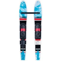 Connelly Super Sport Pair Water Skis ​+ Junior Slide Adj. Bindings - Big Kids'