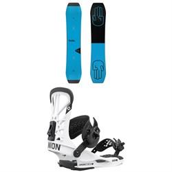 Bataleon Wallie Snowboard + Union Flite Pro Snowboard Bindings 2021
