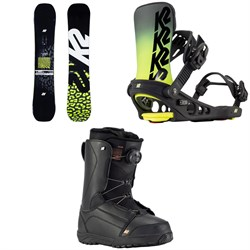 K2 Lime Lite Snowboard + Meridian Snowboard Bindings + Haven Snowboard Boots - Women's 2021