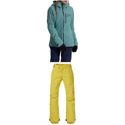 Burton AK 2L GORE-TEX Upshift Jacket + AK 2L GORE-TEX Summit Insulated Pants - Women's
