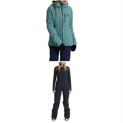 Burton AK 2L GORE-TEX Upshift Jacket ​+ AK 2L GORE-TEX Kimmy Bib Pants - Women's