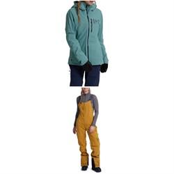 Burton AK 2L GORE-TEX Upshift Jacket + AK 2L GORE-TEX Kimmy Bib Pants - Women's