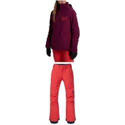 Burton AK 2L GORE-TEX Embark Jacket ​+ AK 2L GORE-TEX Summit Insulated Pants - Women's