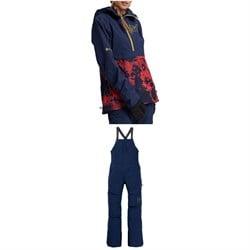 Burton AK 3L GORE-TEX Kimmy Anorak + AK 3L GORE-TEX Kimmy Bib Pants - Women's