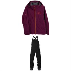 Burton AK 3L GORE-TEX Kimmy Stretch Jacket ​+ AK 3L GORE-TEX Kimmy Bib Pants - Women's