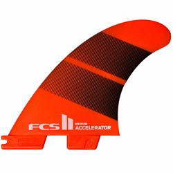 FCS II Accelerator Neo Glass Medium Tri Fin Set