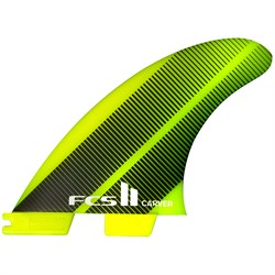 FCS II Carver Neo Glass Medium Tri Fin Set