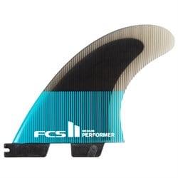 FCS II Performer PC Small Tri Fin Set