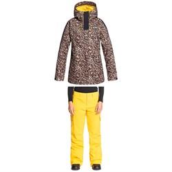 DC Gemini Jacket + Nonchalant Pants - Women's