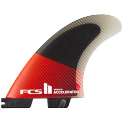 FCS II Accelerator PC Small Tri Fin Set
