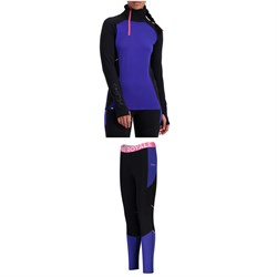 MONS ROYALE Olympus 3.0 Half Zip Top ​+ Leggings - Women's