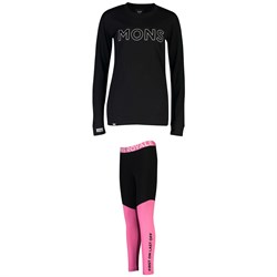 MONS ROYALE Yotei BF Tech Long Sleeve Shirt ​+ Christy Leggings - Women's
