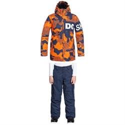 DC Propaganda Jacket + Banshee Pants - Boys'