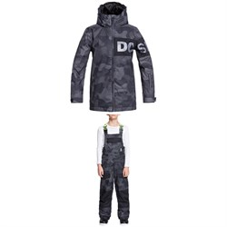 DC Propaganda Jacket ​+ Roadblock Bibs - Boys'
