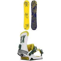 Public Snowboards Disorder Sexton Snowboard + Fix Yale Snowboard Bindings 2021