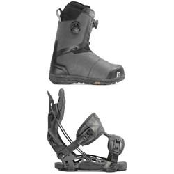 Nidecker Helios Focus Boa Snowboard Boots + Flow NX2 Fusion Snowboard Bindings