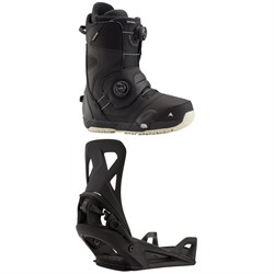 Burton Photon Step On Snowboard Boots + Step On Snowboard Bindings 2021