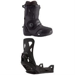 Burton Ion Step On Snowboard Boots + Step On Snowboard Bindings 2021