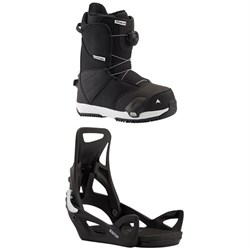 Burton Zipline Step On Snowboard Boots + Step On Snowboard Bindings - Kids' 2021