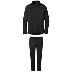 Outdoor Research Vigor Quarter-Zip Top ​+ Bottoms