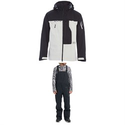 Burton AK 3L GORE-TEX Pro Japan Guide Jacket ​+ AK 3L GORE-TEX Freebird Bib Pants