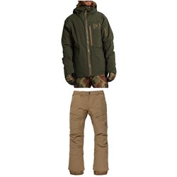 Burton AK 2L GORE-TEX Helitack Stretch Jacket ​+ 2L GORE-TEX Swash Pants