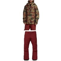 Burton AK 2L GORE-TEX Velocity Anorak Jacket + Cyclic Pants