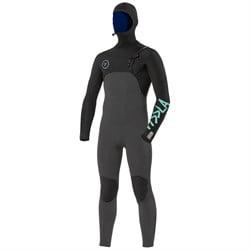 Vissla 7 Seas 5/4 Chest Zip Hooded Wetsuit - Boys'
