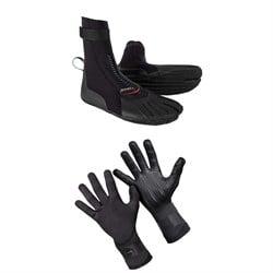 O'Neill 3mm Heat ST Boots + Psycho Tech 1.5mm Gloves