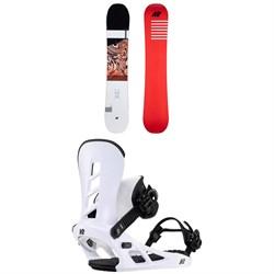 K2 Raygun Pop Snowboard + Sonic Snowboard Bindings 2021