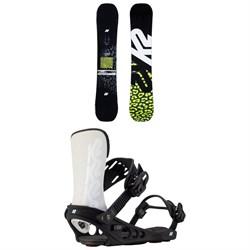 K2 Lime Lite Snowboard + Meridian Snowboard Bindings - Women's 2021