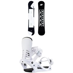 K2 First Lite Snowboard ​+ Cassette Snowboard Bindings - Women's 2021