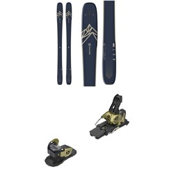 Salomon QST 99 Skis ​+ Warden MNC 13 Ski Bindings 2021