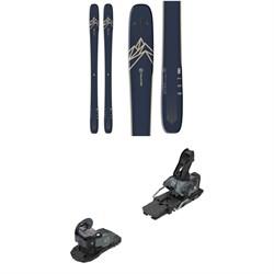 Salomon QST 99 Skis + Warden MNC 13 Ski Bindings 2021