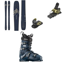 Salomon QST 99 Skis ​+ Warden MNC 13 Ski Bindings ​+ S​/Pro 100 Ski Boots 2021