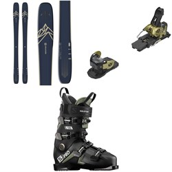 Salomon QST 99 Skis ​+ Warden MNC 13 Ski Bindings ​+ S​/Pro 120 Ski Boots 2021