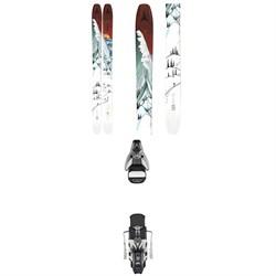 Atomic Bent Chetler 120 Skis + STH2 WTR 16 Ski Bindings 2021