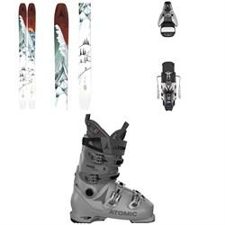 Atomic Bent Chetler 120 Skis + STH2 WTR 16 Ski Bindings + Hawx Prime 120 S Ski Boots 2021