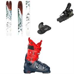 Atomic Bent Chetler 120 Skis + STH2 WTR 16 Ski Bindings + Hawx Ultra 110 S Ski Boots 2021