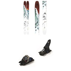 Atomic Bent Chetler 120 Skis ​+ Marker Duke PT 16 Alpine Touring Ski Bindings 2021